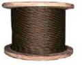 Канат стальной двойной свивки типа ЛК-Р для кранов, диаметр 4,1 мм