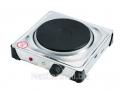 Электроплитка Irit IR-8201 1-конф.с терморегуляцией, закр.спираль, 1,0кВт корпус н/ж