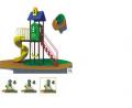 Игровая площадка /3,9*3,9*2,5 Детский игровой комплекс это мини-центр развлечений