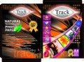 Фотобумага Track А4 260 грамм шелковая волнообразная  рельефная 20-листов