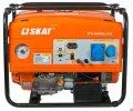 Generating petrol with autostart of SKAT UGB-6000E/AVTO