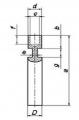 Фасонный нижний электрод рюмка