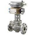 Пневматический регулирующий и быстрозакрывающийся клапан для газообразных сред тип 3241-1-газ и   3241-7-газ