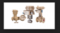 Пневматический регулирующий привод с поворотным рычагом тип 204-1 и тип 204-7