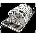 Dehydrators, sinks, hydroclones