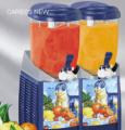 Граниторы, аппарат для приготовления фруктового льда из соков и йогуртов. Главным достоинством этого оборудования, делающим его привлекательным для баров — является возможность смешивать сироп и алкоголь