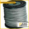 9.7 mm galvanized wire rope GOST 2172-80