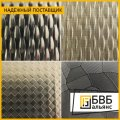 Decorative stainless steel sheet colour with a pattern