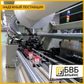 Production of the equipment for the textile industry