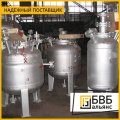 Production of tanks for paint and varnish industry