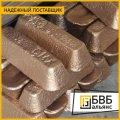El lingote de bronce 300 BrAzH9-4