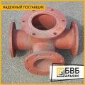 La unión T flantsevyy con el soporte PPTF de incendios 400x250 el GOST 5525-88