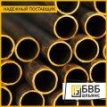 El tubo de bronce de perfil 95х70х12,5 BrAzHmTs