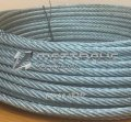 Rope stainless steel AISI 304 2.4, GOST 2172-80, type LC-o,