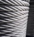 Rope stainless steel AISI 304 6, GOST 2172-80, type TC