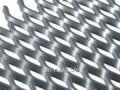 Expanded metal sheet, steel 410 3kp, 3SP, 3Ps, diamond scales, honeycomb