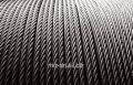 Rope wire GOST 2.3 7372-79, galvanized: with w, AUGE