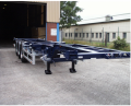 Semi-trailer container carrier three-axis model 9453-0000010, Semi-trailers container carriers
