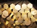 Hexagonal metal bars