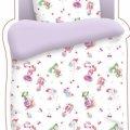 Комплект постельного белья детский бязь Непоседа Н/У КДН-1 рис.4623/фиолетовый Маленькие феечки