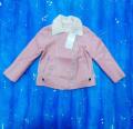 Короткая куртка для девочки от 3 до 5 лет
