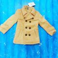 Пальто для девочки от 2 до 6 лет
