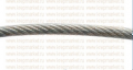 Трос стальной оцинкованный DIN 3055