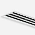 Лицевая часть щелевого диффузора VSD35-4-F/1090/C2/B00/WH