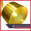 Лента латунная ЛС59-1 ДПРНМ