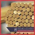 Bar of brass 48 mm of L63 DShGNP