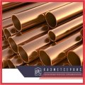 Медно-никелевая труба 10х2 МНЖ5-1