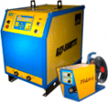 Automatic welding semiautomatic device