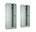 Шкаф 2-х секционный 2000х700х400 мм, толщина 1 мм