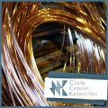 Проволока бронзовая круглая 0.08 мм ГОСТ 48-08-09-93, броф 6.5-0.4