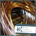 Проволока бронзовая круглая 0.08 мм ГОСТ 15834-77, БрБ2, БрБ2.5