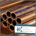The pipe is bronze, the size is 155x15 mm, GOST 1208-90, DIN 1755, brand brazhn 10-4-4