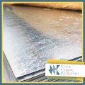 The leaf is galvanized, the size of 0.35 mm, 1.25х2.5, steel 08ps2, 08sp2, 08kp, hsh
