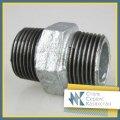 Nipple steel, size of 15 mm, GOST 8967-75, galvanized