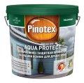 Деревозащитное средство на водной основе с добавлением древесных масел и воском Pinotex Aqua Protect CLR (база под колеровку) 9 л. 5235648