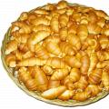 Рогалики с шоколадом, мармеладом, 0,3 кг