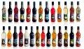شربت برای کوکتل (شیشه) آدامس 970 g x 12 عدد 4870004105621