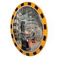 Индустриальное зеркало круглое 600