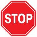 Знак дорожный 2 т/р Восьмигранный В=700