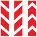 Знак дорожный 2 т/р Прямоугольный 8.22.1-8.22.3 1700х500