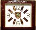 Часы сувенирные с погонами МВД
