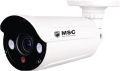 Digital IP video camera, 3.0mp, IR60m, POE, f 2,8-12 mm