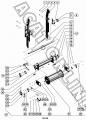 Битер проставки ДОН-680М верхний Ростсельмаш