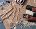 Полотенце пляжное цвет пастельный 100х200см 100% хлопок
