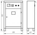 Шкафы усправления плавным пуском асинхронных электродвигателей типа ПУСК-ЗМ