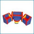 Комплект мягкой игровой мебели Маруся